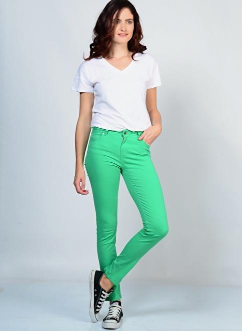 Fresh Company Klasik Pantolon Yeşil